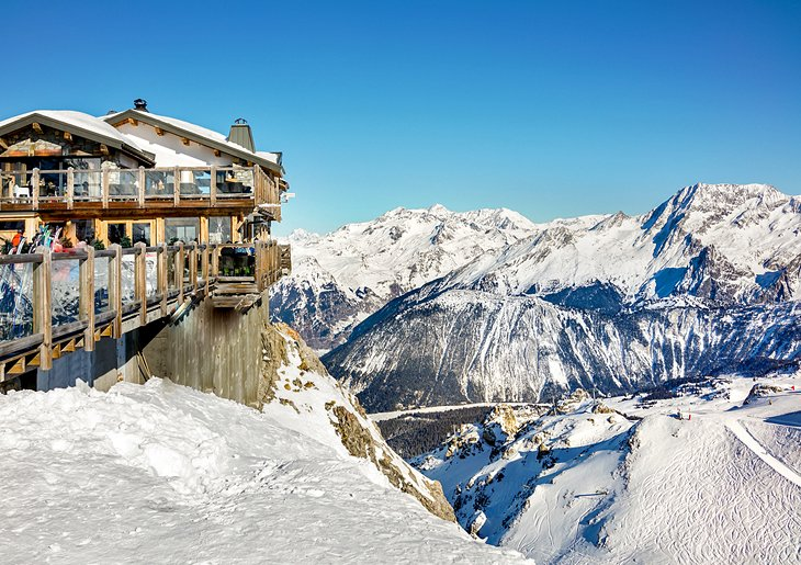 Sciare in Francia: Courchevel