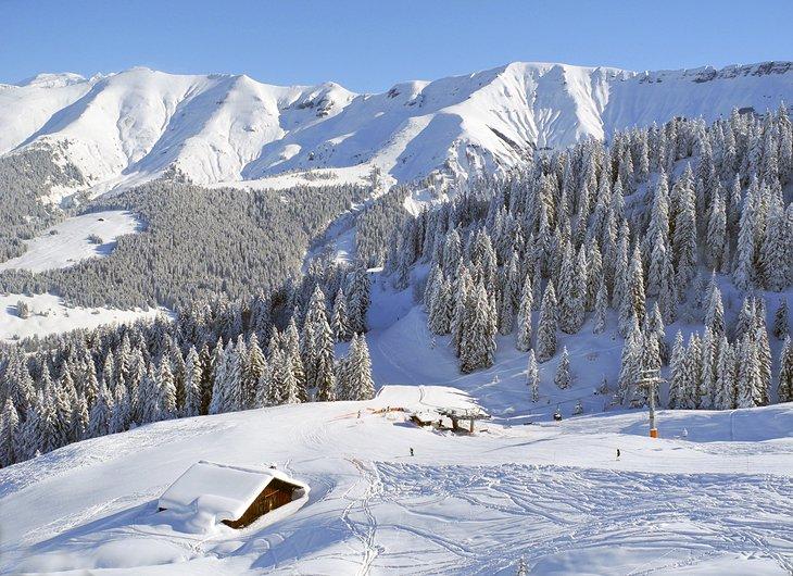 Megeve in Francia per lo sci